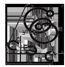 Бирка кабельная маркировочная У-136 треугольная