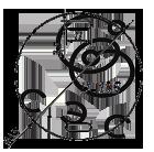 Бирка кабельная маркировочная У-135 круглая 55х0,8мм