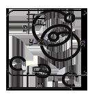 Бирка кабельная маркировочная У-134 квадратная 55х55х0,8мм